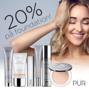 Visste du att alla foundations från PÜR Cosmetics innehåller antiage-ingrediensen Ceretin® Complex och hudvårdande Energy Complex? Som hudvård i makeup-förpackning!