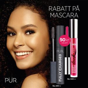 PUR mascara, bygger fin volym även för känsliga ögon.